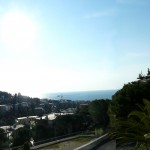 View from the balcony of Hotel Modus Vivendi, Sanremo Italy