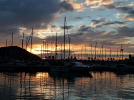 Porto Maurizia during sundawn